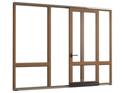 Parallel sliding door