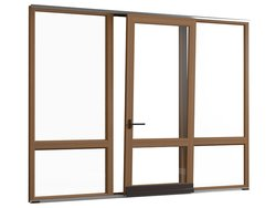 Tilt-and-slide door